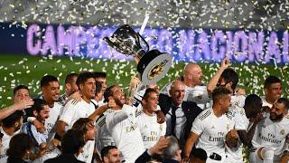Liga le Real Madrid de Zinedine Zidane champion d Espagne pour la 34e fois