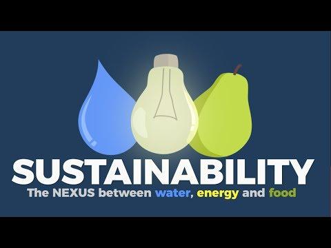 Hablemos de Sostenibilidad: Nexus Agua-Energia-Alimentos