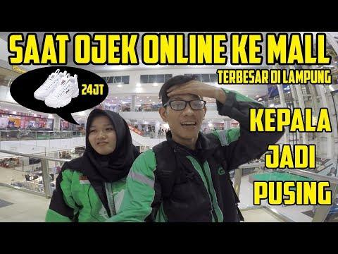 Ke Mall Pakai Jaket Gojek + Grab | Bro Omen, Yessi Liansar