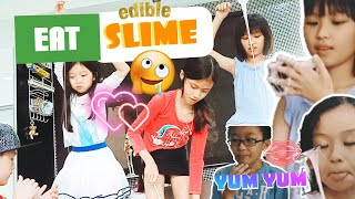 Let's Eat Slime   Easy and Simple Edible Slime Recipe