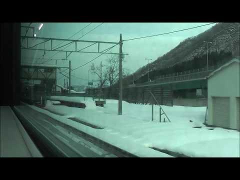 JR上越線+信越本線 水上→長岡【E129系】 2017.12.24 JR Jōetsu Line+Shin'etsu Main Line