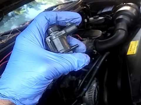 97 f150 v6 intake manifold runner control valves are stuck open in banks 1 and 2  YouTube