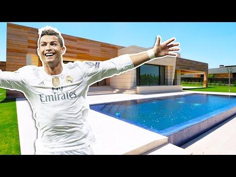 Cristiano Ronaldo Hus i Madrid (Inne Tour) | 2017 NYE