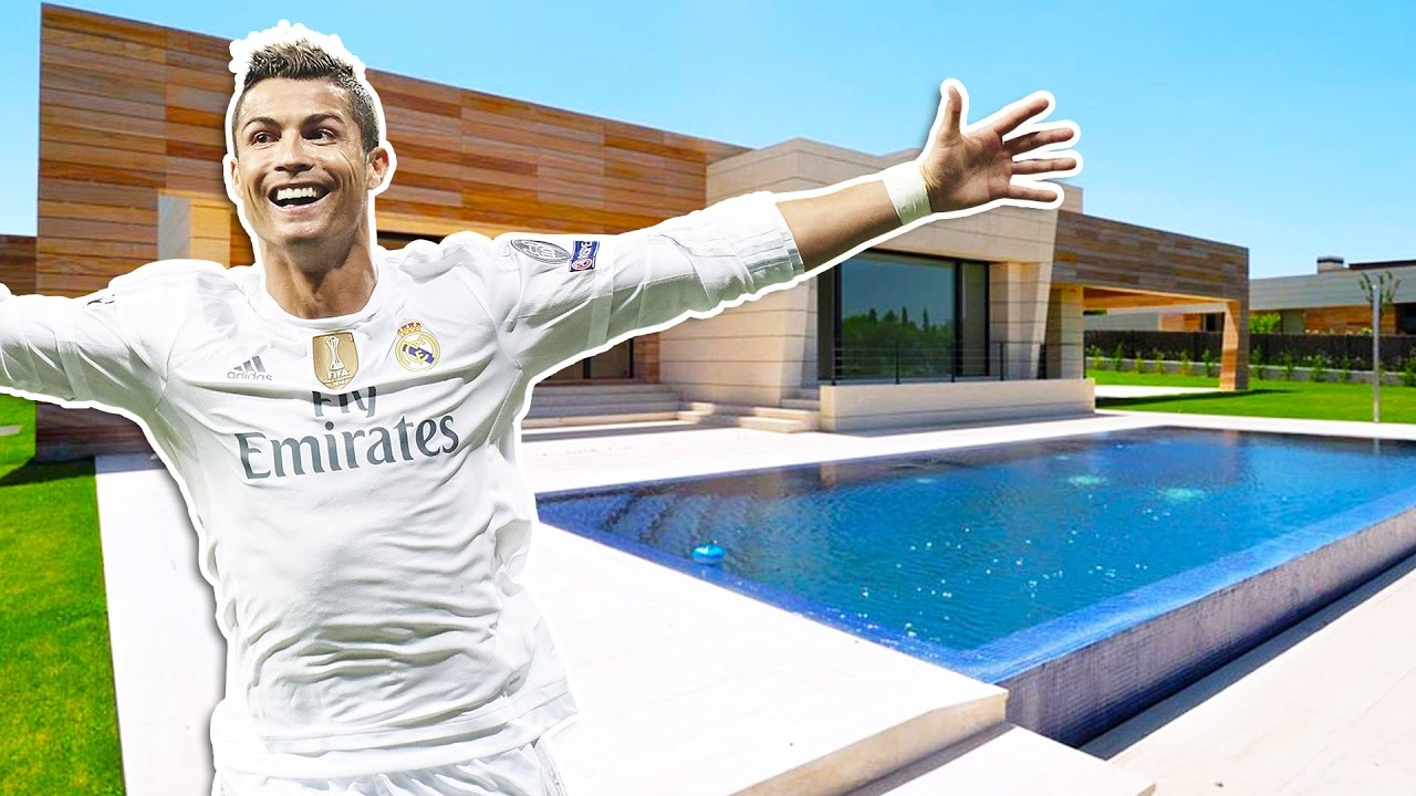 Cristiano ronaldos house in madrid inside tour 2017 new youtube