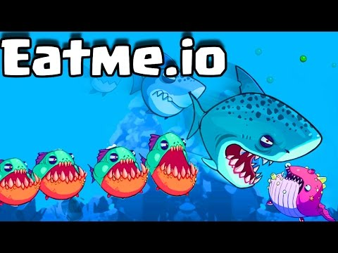 Eatme.io MONSTER AGAR.IO STYLED TRICK SPLITS | MASSIVE PIRANHA UNLOCK!!