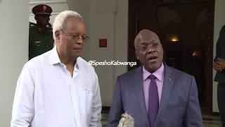 LOWASSA ATINGA IKULU, FACE TO FACE NA RAIS MAGUFULI