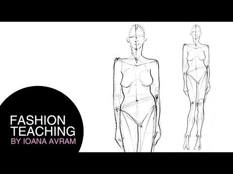 How To Do Fashion Sketches Step By Step Youtube