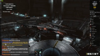 Безумное вторжение дронов в К-Спейс!!! | EvE Online | Nightbot работает!