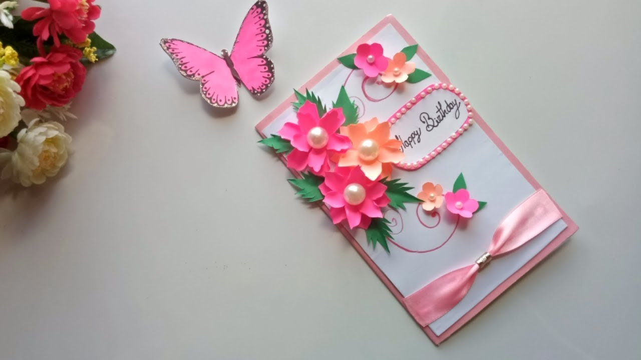 Beautiful Handmade Birthday Card Idea DIY Greeting Pop Up Cards For Tonni Art And Craft
