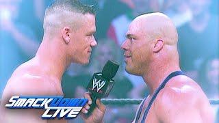 Relive John Cena s legendary debut: SmackDown LIVE, Nov. 15, 2016