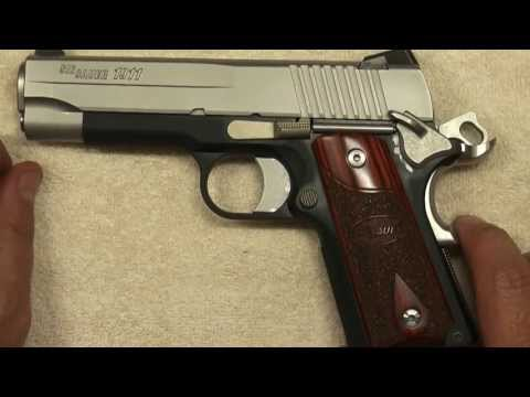 Sig Sauer 1911 C3 Review (HD)