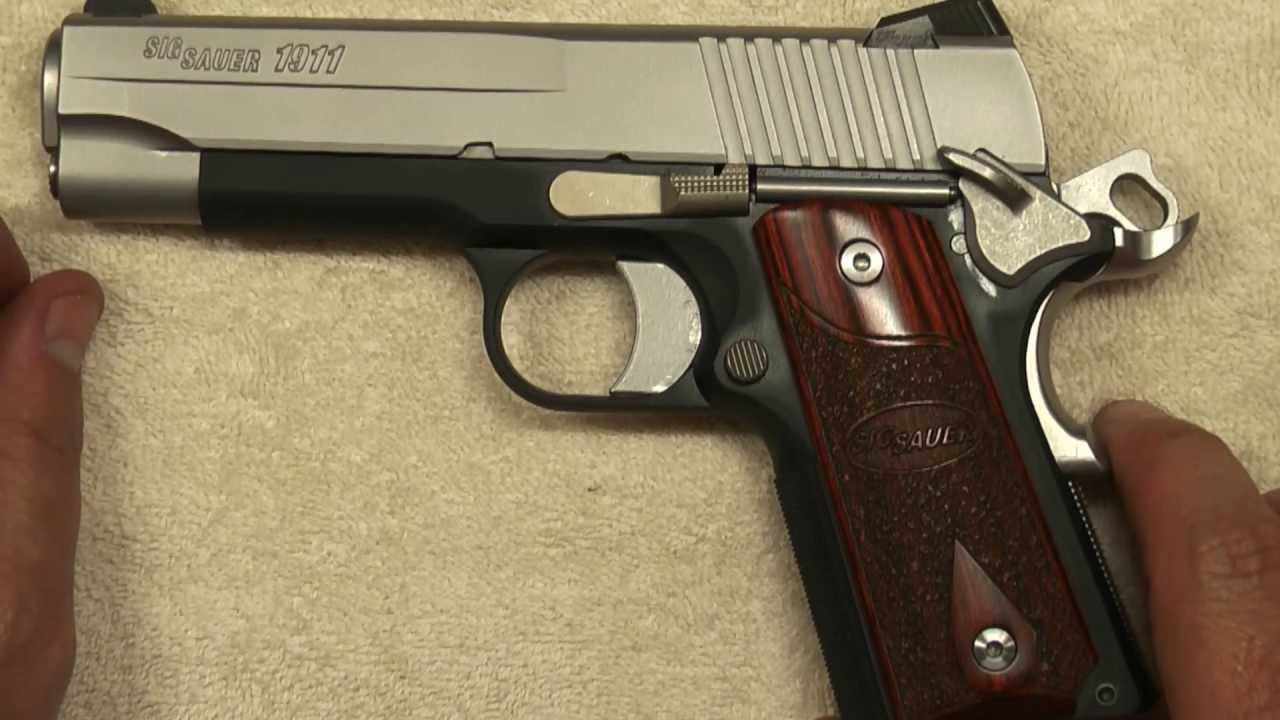 Sig Sauer 1911 C3 Review Hd Youtube
