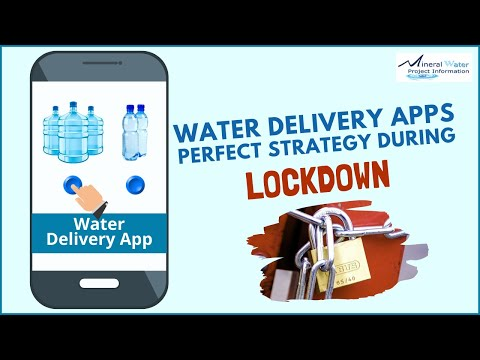 Water Delivery Apps Perfect Strategy During Lockdown