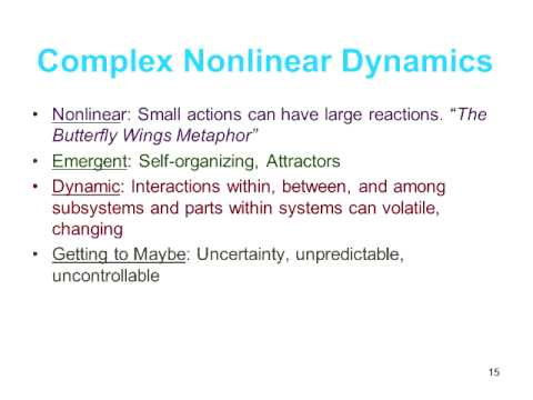 Applying Complexity Concepts to Enhance Innovation and Use