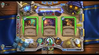 Hearthstone : Malygos Druid vs Odd Rogue (The Witchwood)