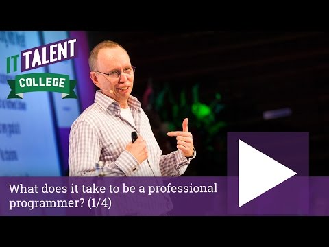 Walter Bright: What does it take to be a professional programmer? (1/4)