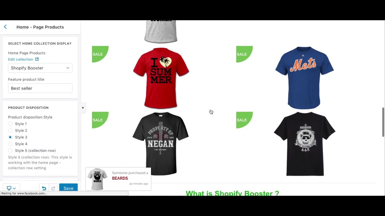 Group Buy Shopify Booster + eComTurbo + Shoptimized Themes