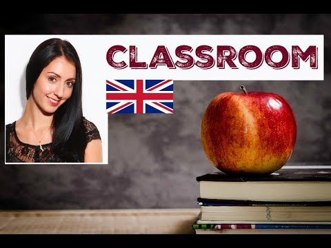 ENGLISH CLASSROOM VOCABULARY & PHRASES / Learn English / LIV