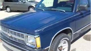1993 Chevrolet S10 Pickup Used Cars Grand Rapids MI
