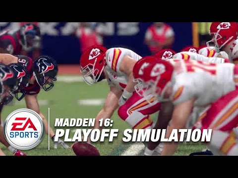 EA Sports Wild Card Playoff Simulation | Madden NFL Live