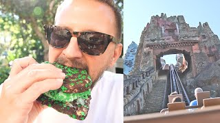 Disney's Animal Kingdom Early Morning Fun During Spring Break! | Best Breakfast, Safari & Everest!
