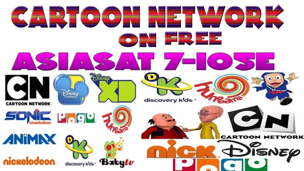 Cartoon Network On Free Asiasat 7 105 5e 2018 Youtube