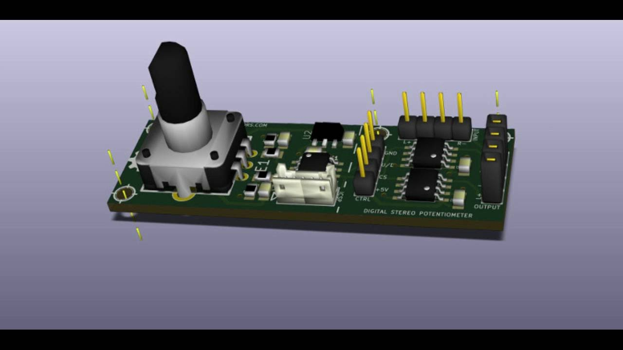 Mcp Digital Volume Control