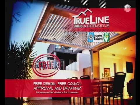 Trueline Patios | The trusted name in outdoor living | TV Commercial | January 2014