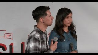 I thought I was just a regular American | Alvaro Castillo & Carla Martinez | TEDxCSUN