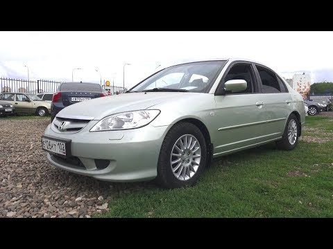 2004 Honda Civic VII ES5 1.6 AT. Start Up, Engine, and In Depth Tour.