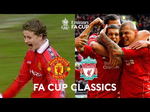 Manchester United v Liverpool: Classic FA Cup Matches Over the Years | Emirates FA Cup