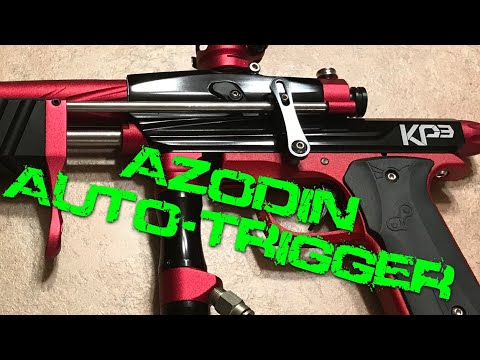 Reviewing the Azodin Auto-Trigger for KP3 Paintball Gun