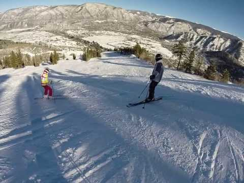 Buttermilk  Ski Resort 12-25-13 Aspen, CO