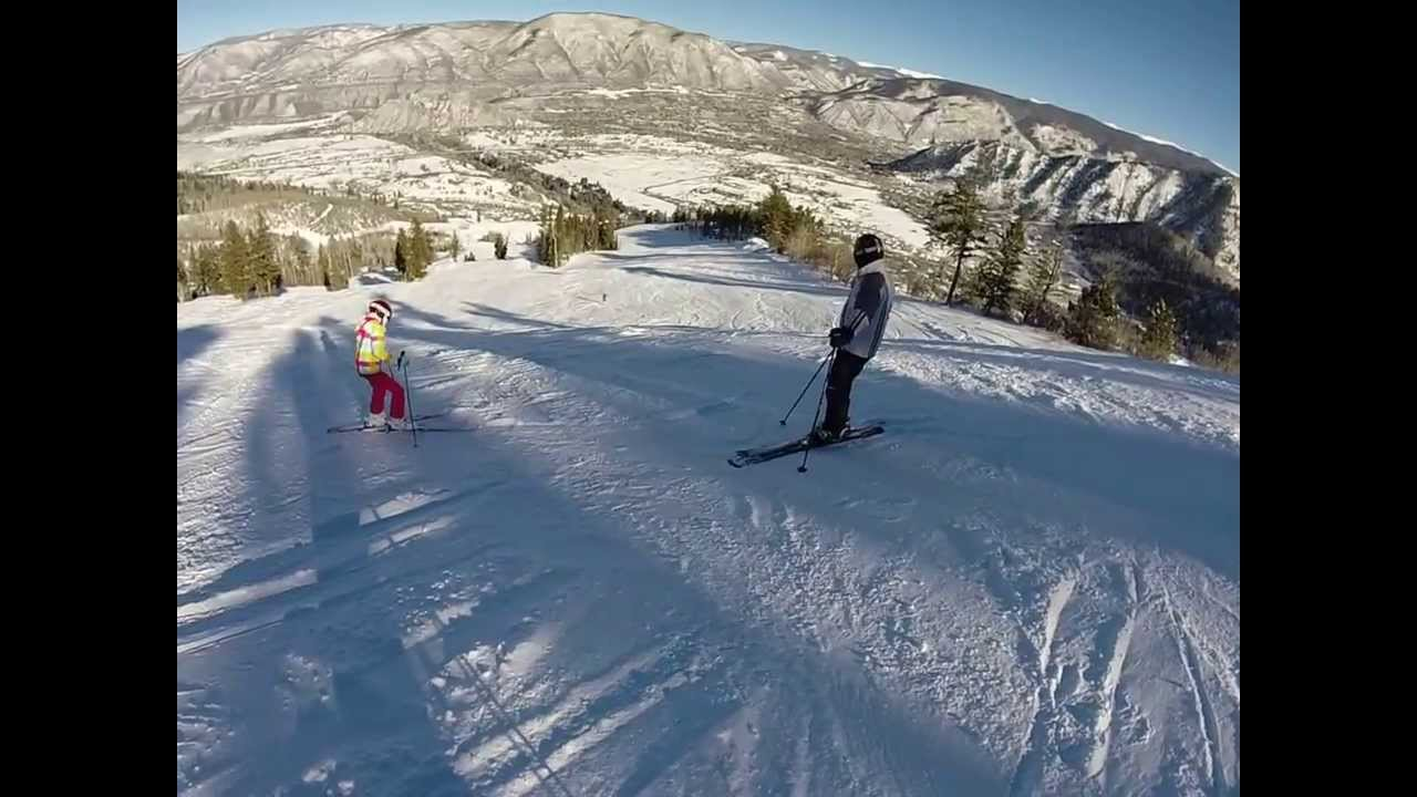 buttermilk ski resort 12-25-13 aspen, co - youtube