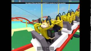 StandUp Coaster on Roblox