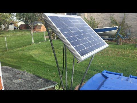Rack for solar panel