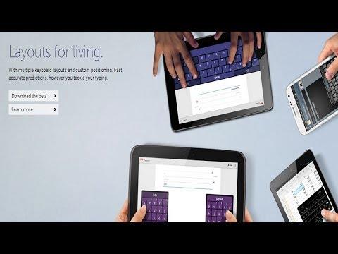Undock, resize, or split your keyboard with Swiftkey 4.3 beta (video)