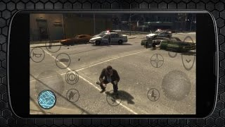 Grand Theft Auto IV On Android Gameplay