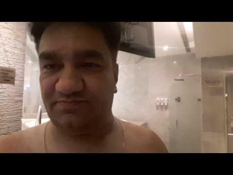 Sauna Steam at Hyatt Hotel Delhi