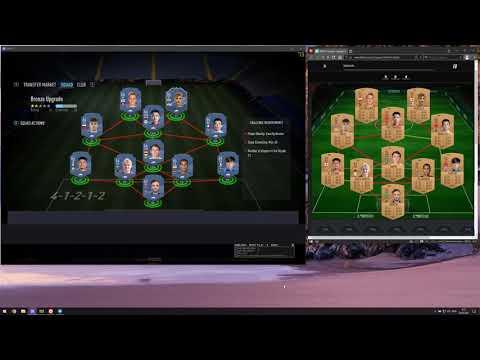 FIFA 21 | Auto Squad Futbin Builder for SBC