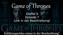 Game of Thrones Staffel 6 Folge 7 - Deutsch/HD (Stream/Link) - Der Gebrochene