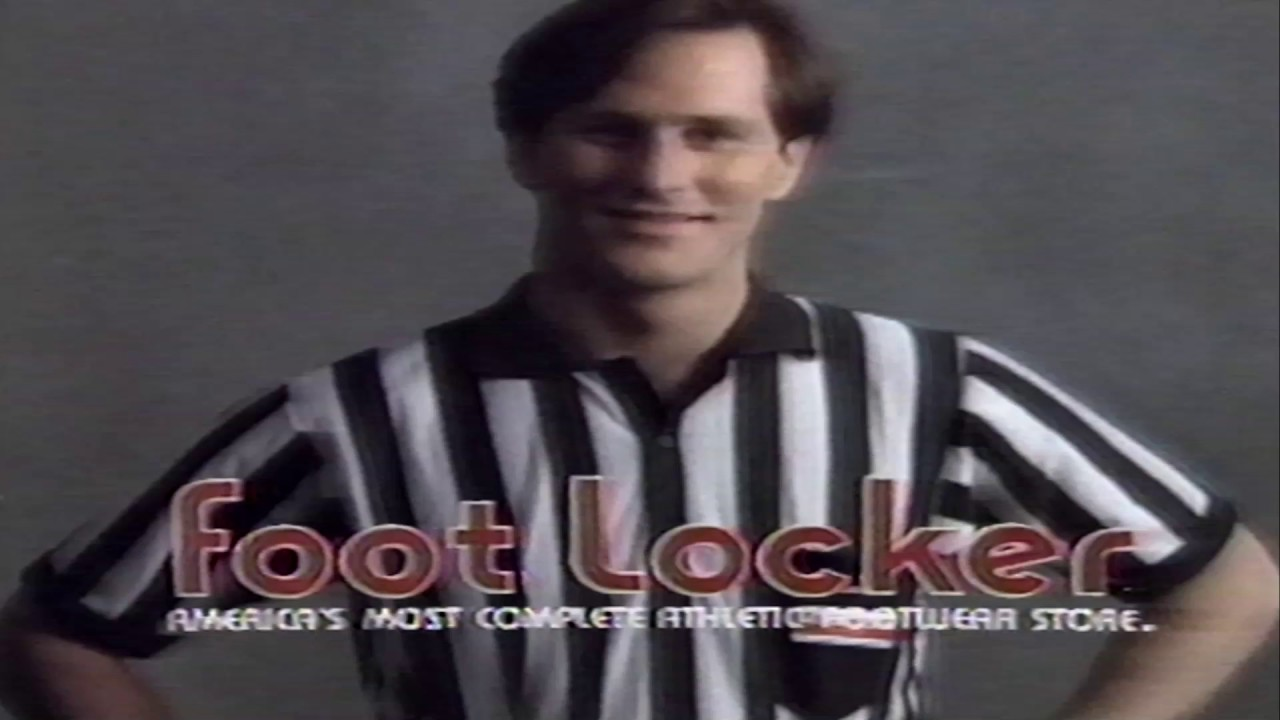 Vintage Foot Locker TV commercial from the 80s Nike Adidas Reebok Chuck Taylor
