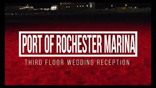 Port of Rochester Marina - Wedding Reception