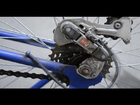 C mo quitar la rueda trasera de una bicicleta c mo for Como reparar un cristal agrietado