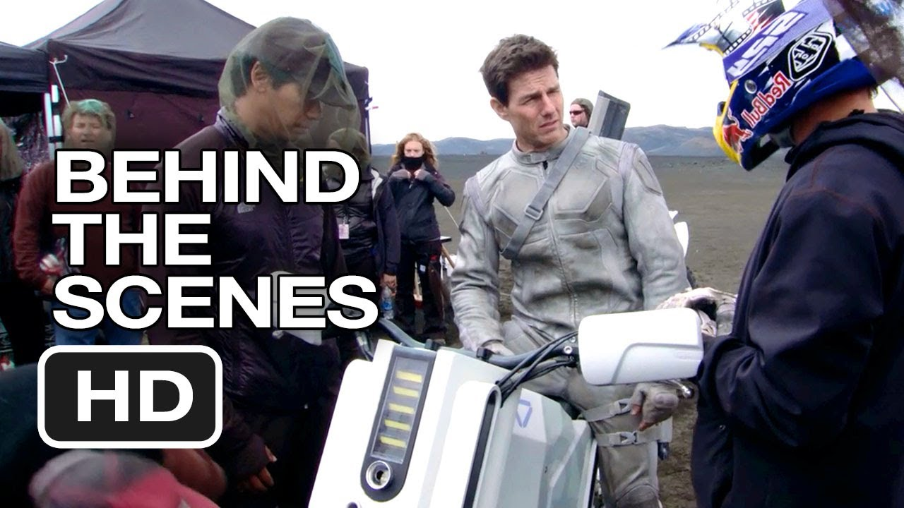 oblivion behind the scenes - stunt bike (2013) - tom cruise movie hd