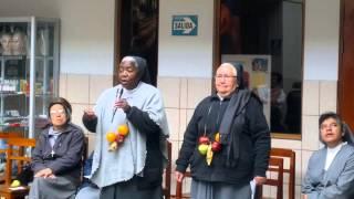 Sor María Dominique en el CETPRO María Auxiliadora
