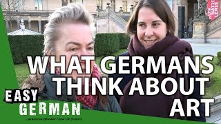 What Germans think about art | Easy German 147
