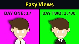 How to Get M๐re Views on YouTube in 2021 - in 2 Minutes