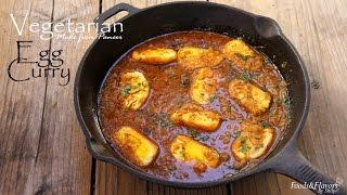 Veg Egg Curry Recipe -paneer Ke Ande | Vegetarian Egg Curry Recipe Shilpi
