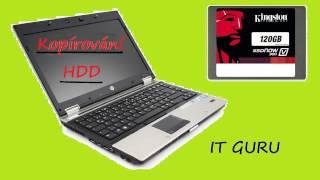 Kopírování harddisku / klonování hdd / clone hdd